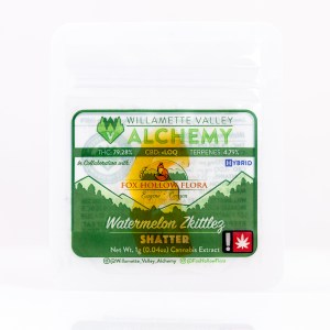 Watermelon Zkittlez Shatter by WVA