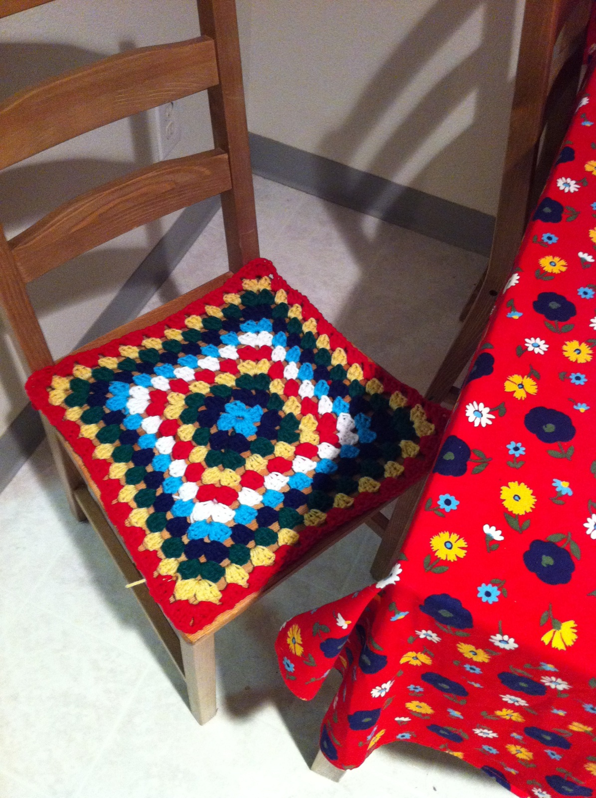 old ikea chair covers wooden yard chairs crochet pdx pursuit
