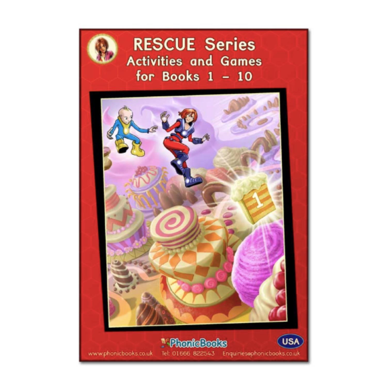 Phonic Books Rescue Workbook