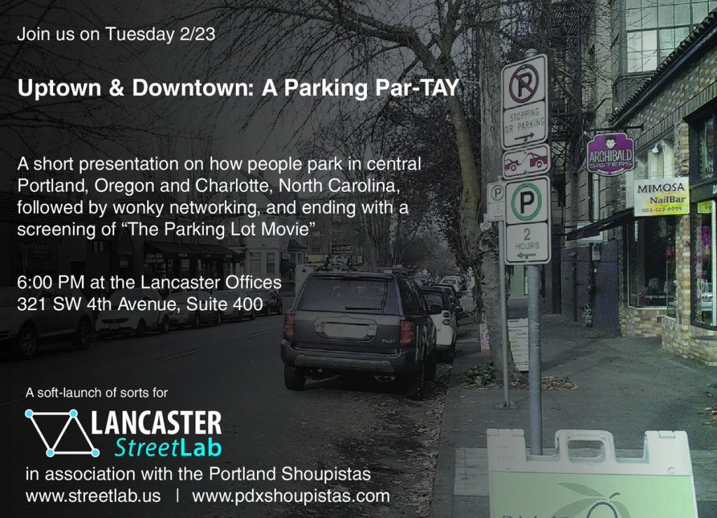 uptown & Downtown: a Parking Par-TAY