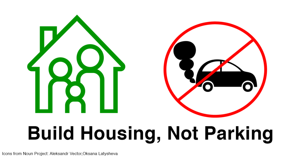 Eliminate Minimum Parking Requirements In Favor Of More Affordable Residential Infill