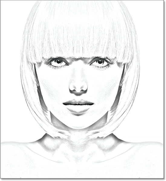 Photo To Color Pencil Sketch With Photoshop CC