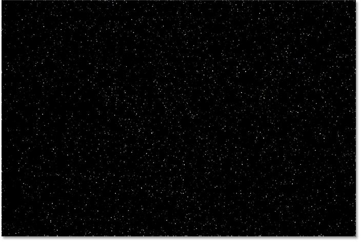 create a starry night