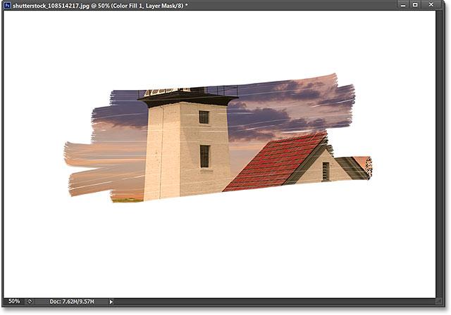 Các Foreground và mẫu màu nền trong bảng điều khiển Công cụ.  Hình ảnh © 2013 Photoshop Essentials.com
