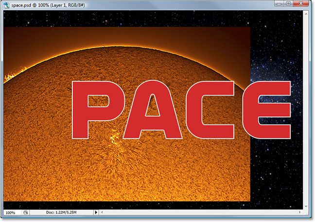 Photoshop Text Effects tutorial image
