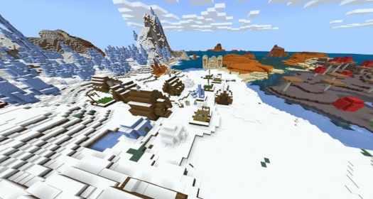 Rare dungeons in Minecraft PE