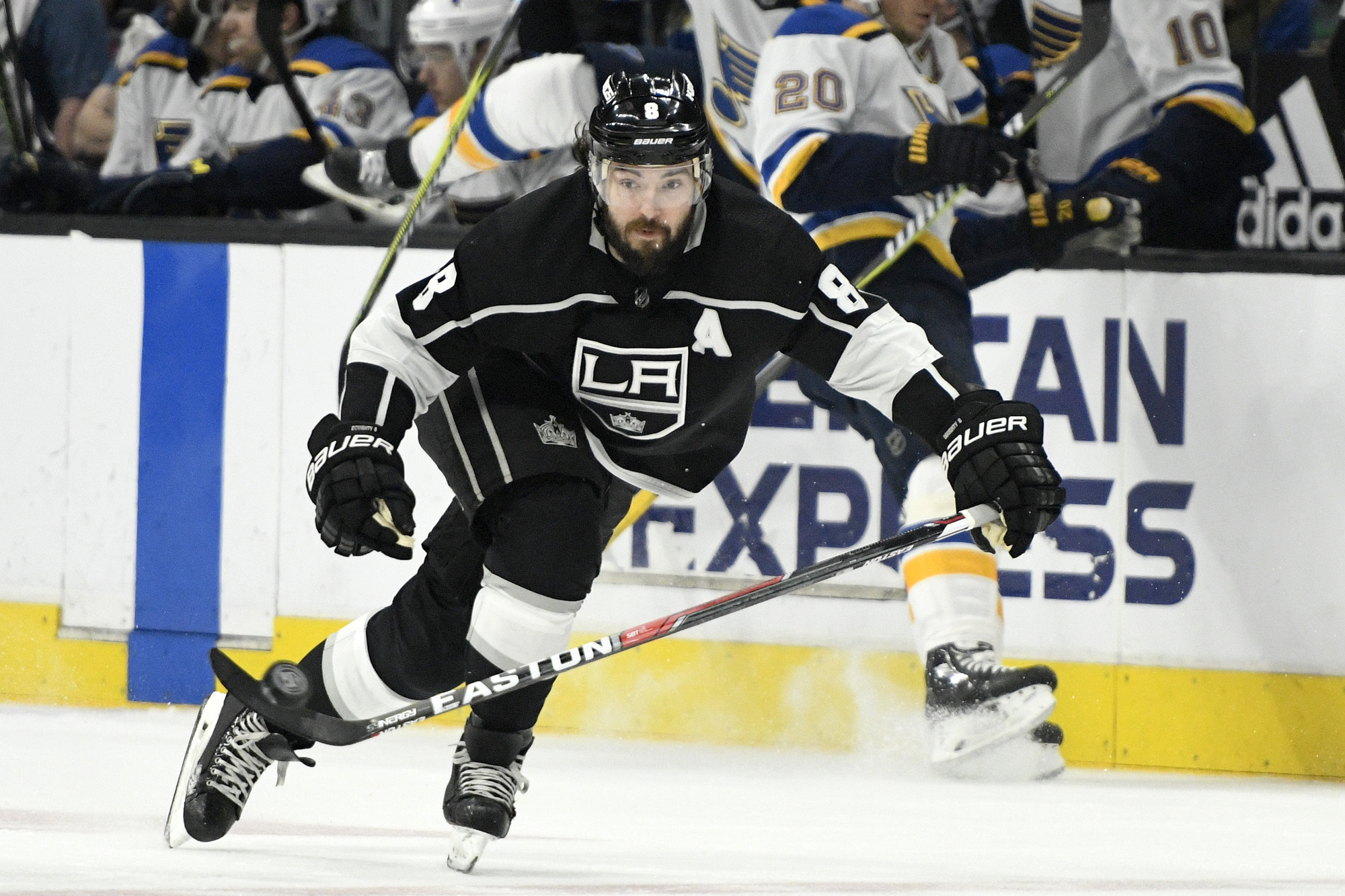 Duchesne High School Ice Hockey Kings Drew Doughty Takes Pride In Consecutive Games Streak