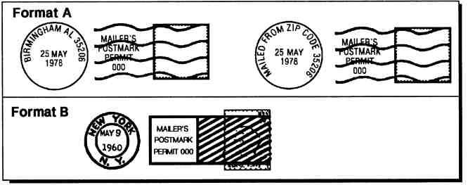 Domestic Mail Manual P023 Precanceled Stamps