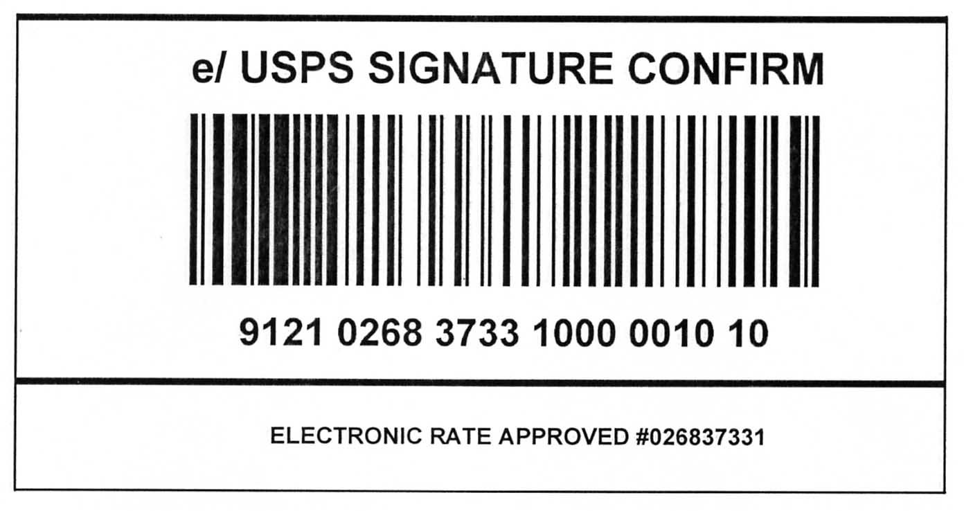 Domestic Mail Manual S919 Signature Confirmation