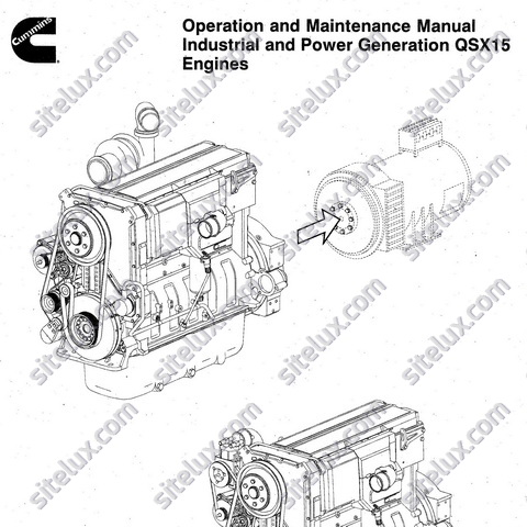 Cummins QSX15 Industrial and Power Generation Engines
