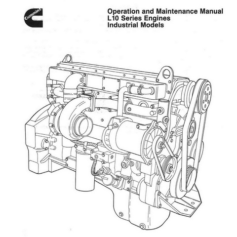 Cummins L 10 Series Engines Operation and Maintenance