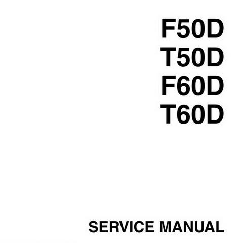 Yamaha Marine F50D, T50D, F60D, T60D Outboards Repair
