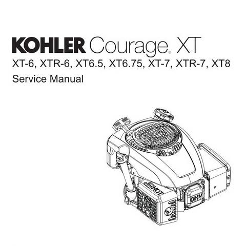 Kohler Courage XT-6, XTR-6, XT6.5, XT6.75, XT-7, XTR-7