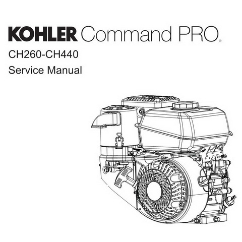 Kohler Command PRO CH260-CH440 Engines Repair Service