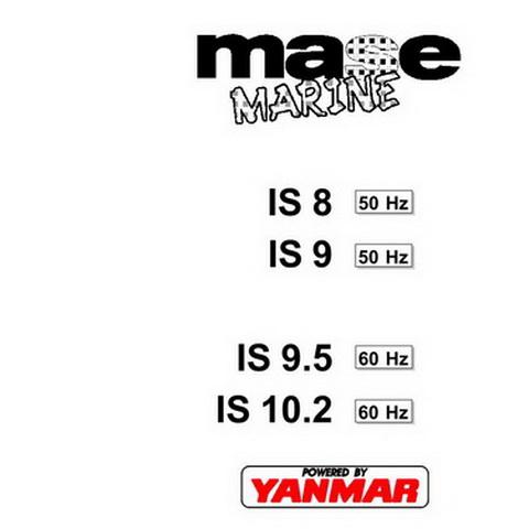Yanmar Mase Marine IS8(50 Hz), IS9(50 Hz), IS9.5(60 Hz