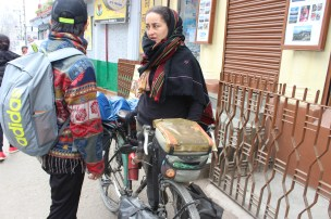Gracia has completed a 6 month course in Japan and has decided to reach her country Spain on this cycle. She entered India through Myanmar and after Darjeeling, she is headed over to Nepal and then ladakh.