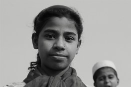 Sumi (13), she witnessed her father s death due to the clashes between the Muslims and the Buddhists in Myanmar. she aspires becoming an Engineer here in India itself.