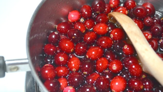 This simple, delicious cranberry sauce recipe, using fresh cranberries, is perfect for Thanksgiving or for a dinner side dish!