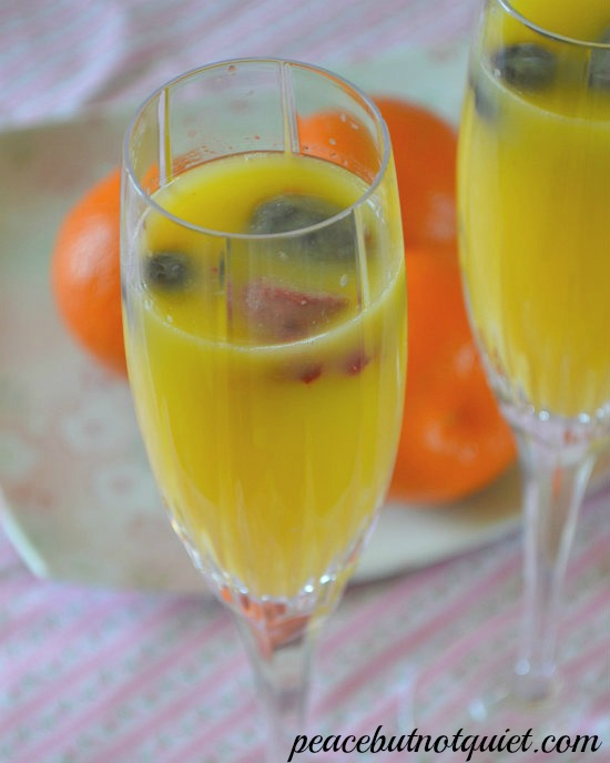 how to make mimosa punch