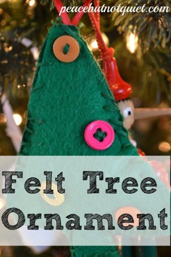 easy sew tree ornament