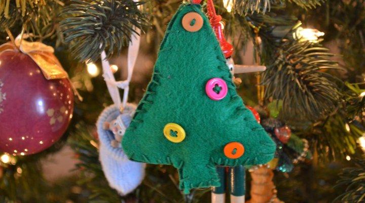easy sew ornament