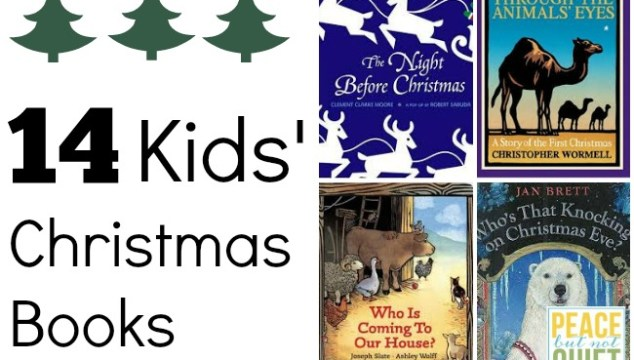 14 great Christmas books to read with your kids this holiday season!