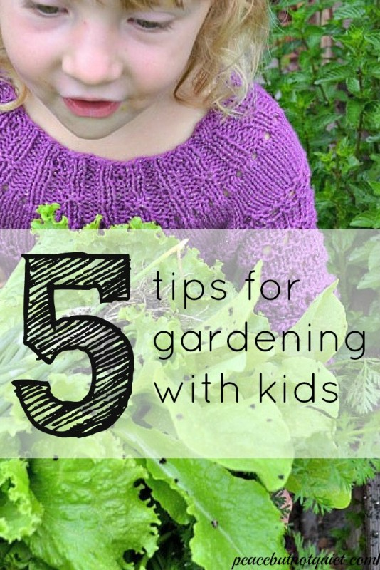 Want to help your kids be healthy, active, and to teach them to eat well? Get them gardening! Don't miss these 5 surefire ways to get children excited about growing their own plants and veggies.