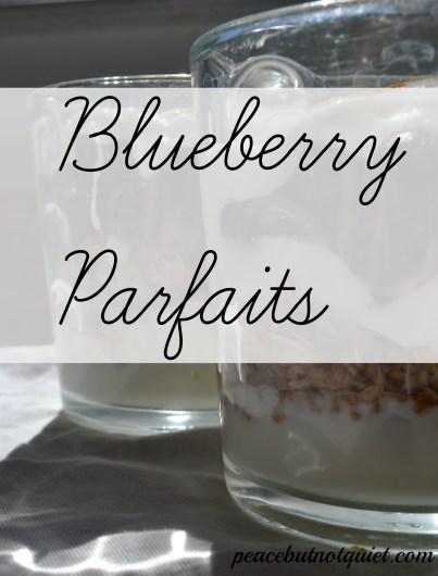Blueberry Parfaits