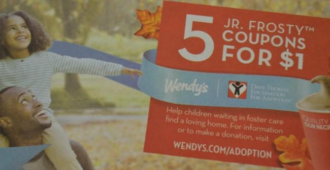 Jr Frosty coupon