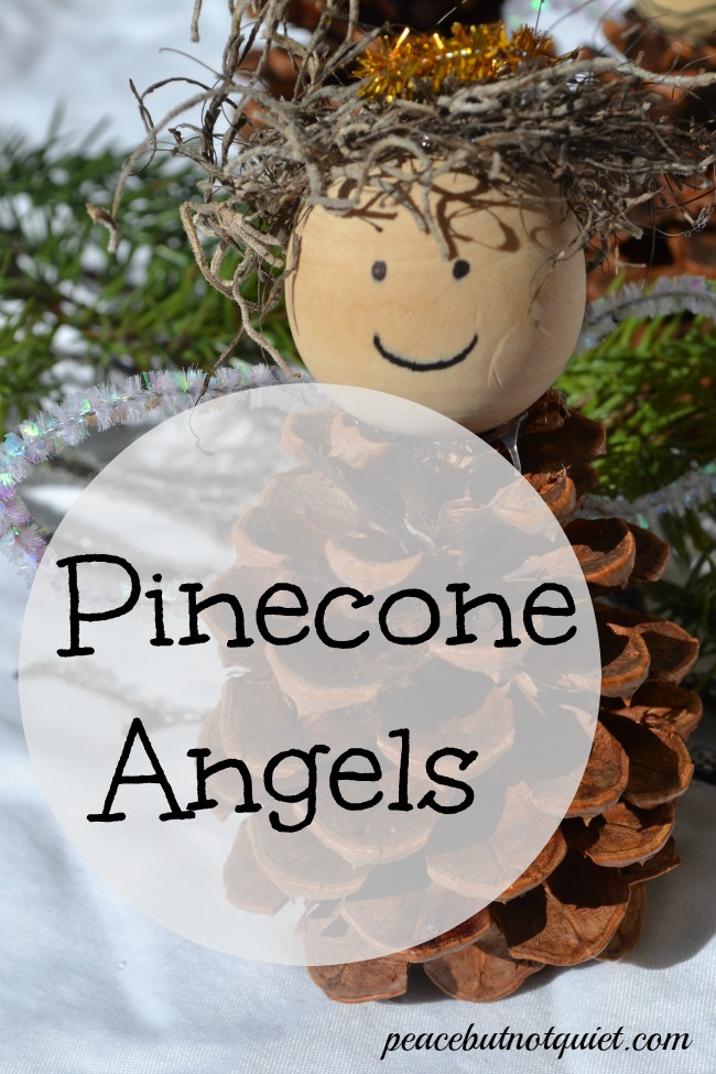 Christmas crafts for kids for Pine cone christmas ornaments for kids