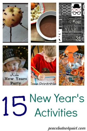 New Years Eve Ideas for Kids
