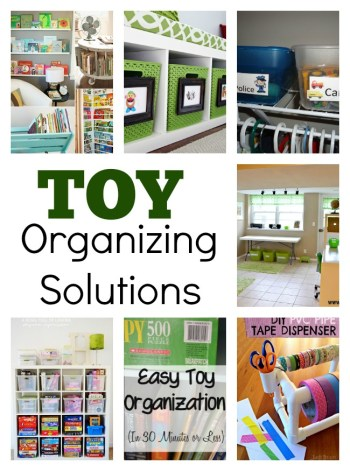 15 Toy Organizing Solutions