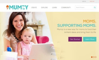 Mumzy — Crowdfunding and Momfunding