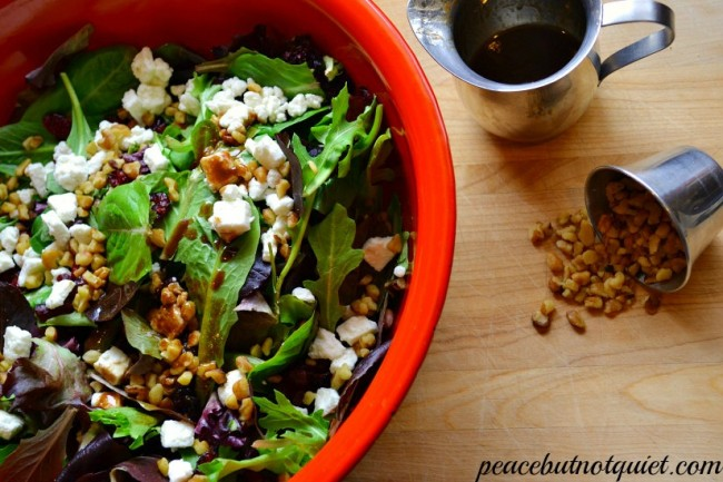 green salad recipes