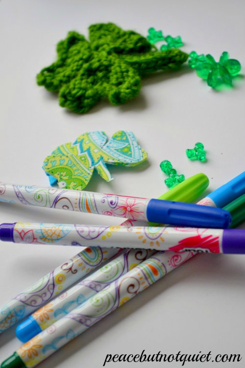 pens and shamrocks-watermarked
