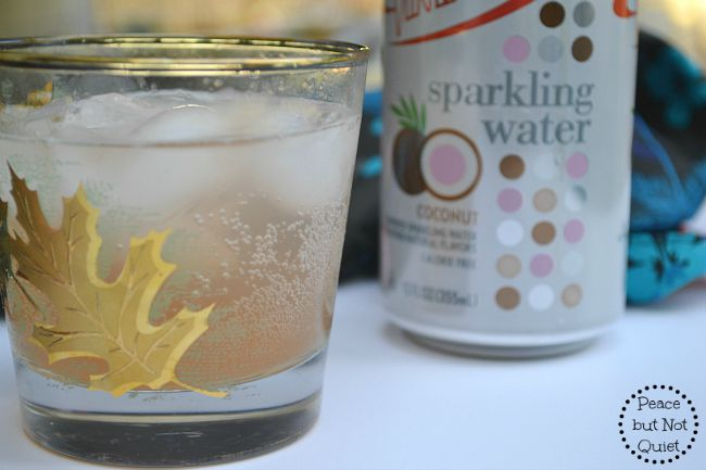 Sparkling grapefruit cocktail -- the perfect drink to cool off on a hot day. Coconut and grapefruit flavors combine to create a delicious, tropical drink!