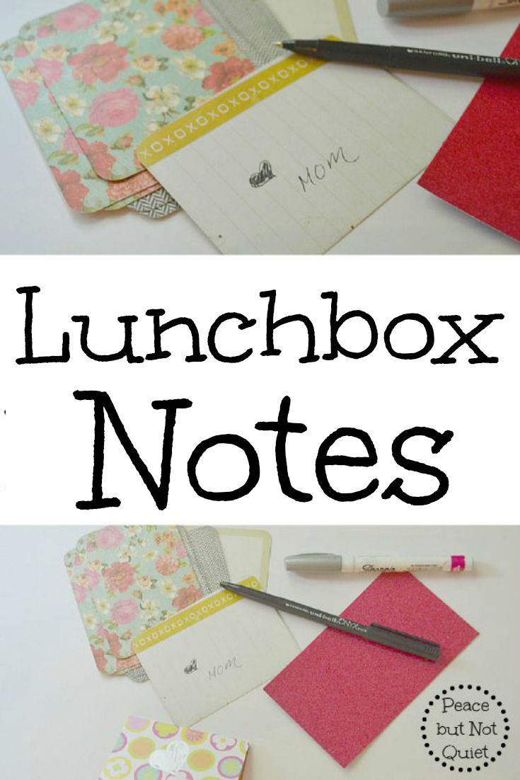 Send kids off to school with a little reminder of how much you love 'em -- tuck a note in their lunch! Tips, ideas, and hundreds of free printable notes to brighten any kid's day.