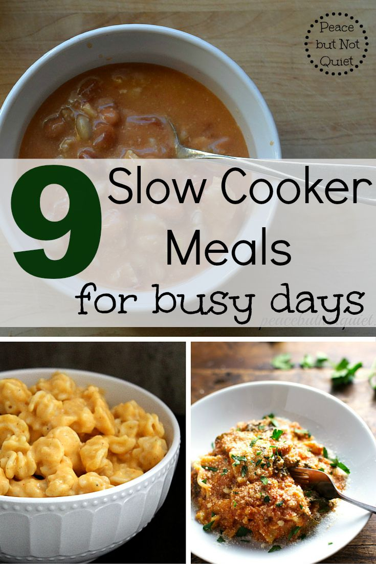 Looking for easy, healthy meals? These slow cooker recipes come together quickly early in the day, making dinnertime a breeze!
