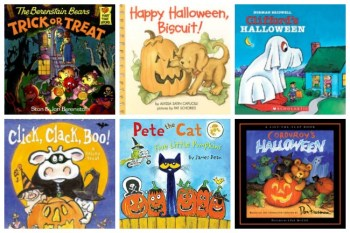 Fourteen Halloween Books for Kids