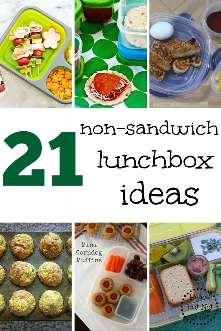 non-sandwich lunches