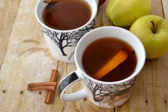 Stovetop Spiced Apple Cider