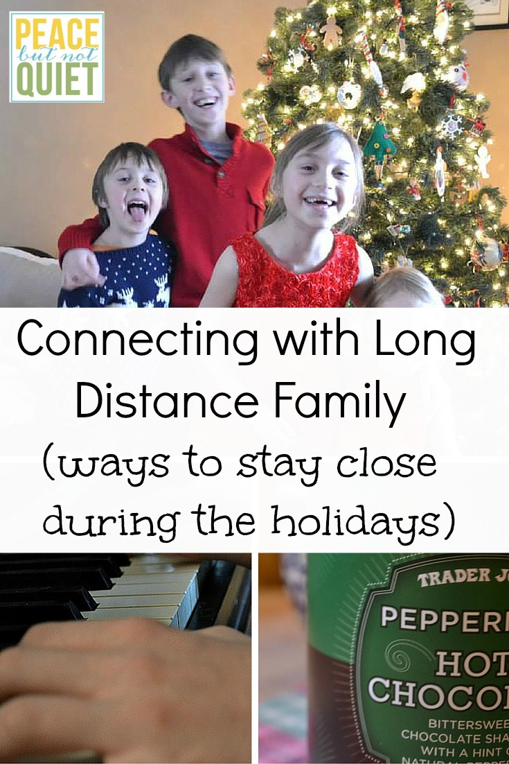 Tips to stay connected with long-distance family over the holidays.