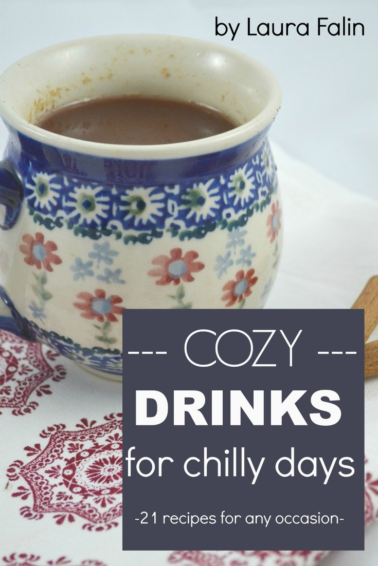 21 delicious recipes for cozy fall and winter drinks to warm you up, or to celebrate, or just have while chatting with a friend. Check out the ebook!