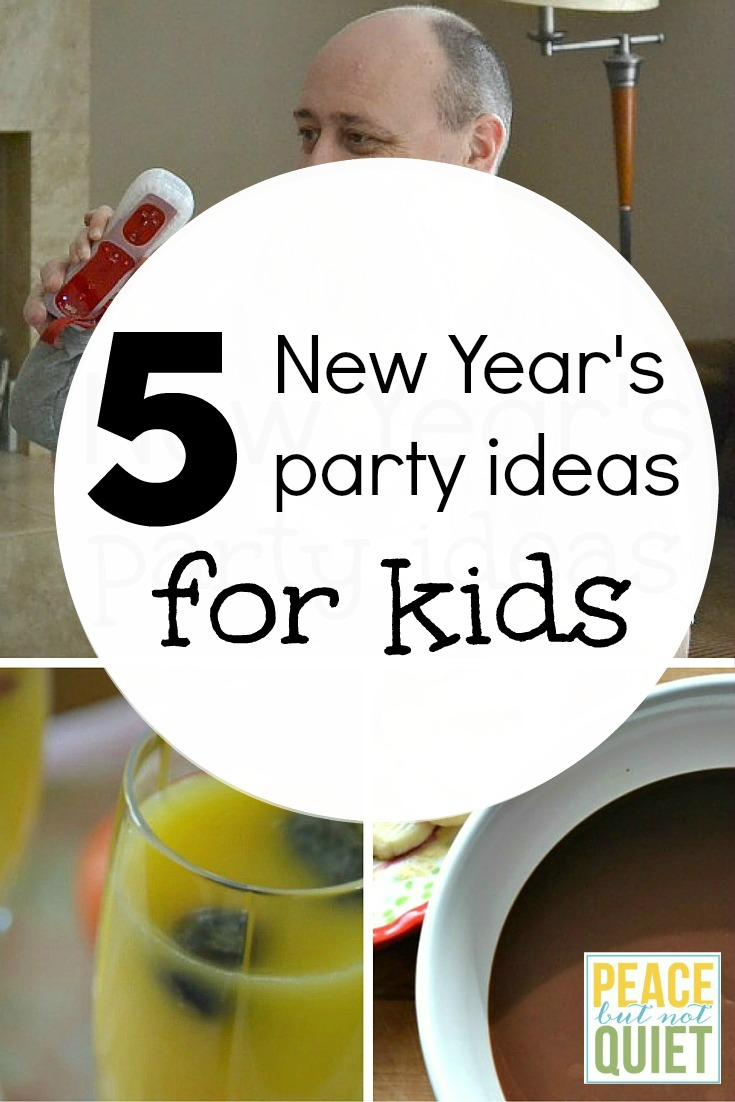 New Year\'s Eve Party Ideas for Kids