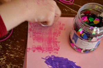 Valentine Card Making