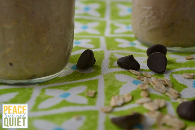 delicious chocolate overnight oats