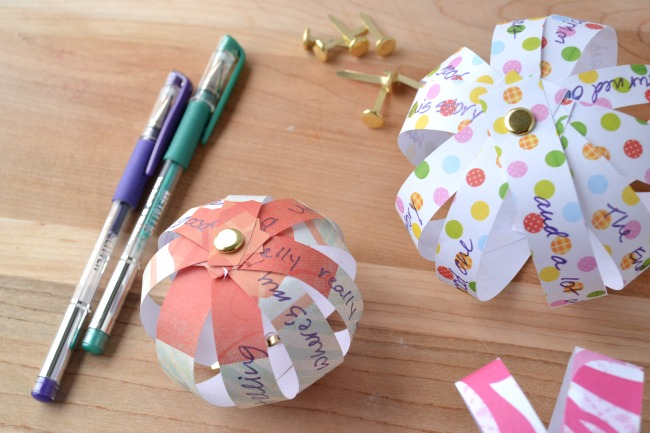 these creative story orbs are a fun Girl Scout activity!
