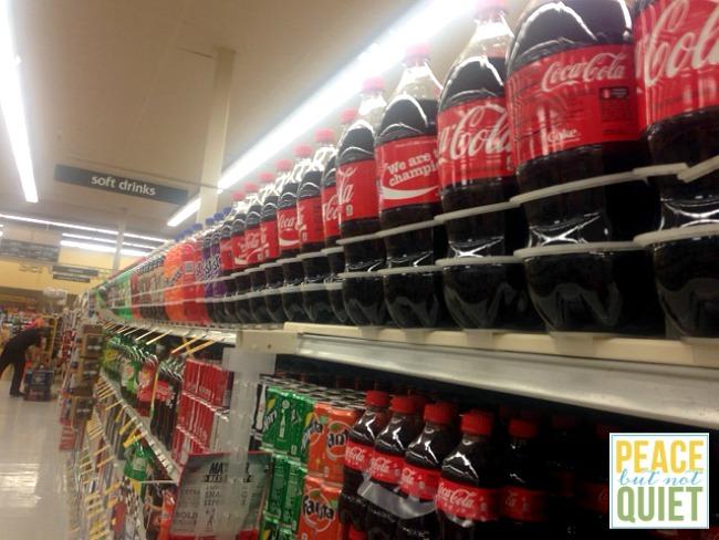 coke at store