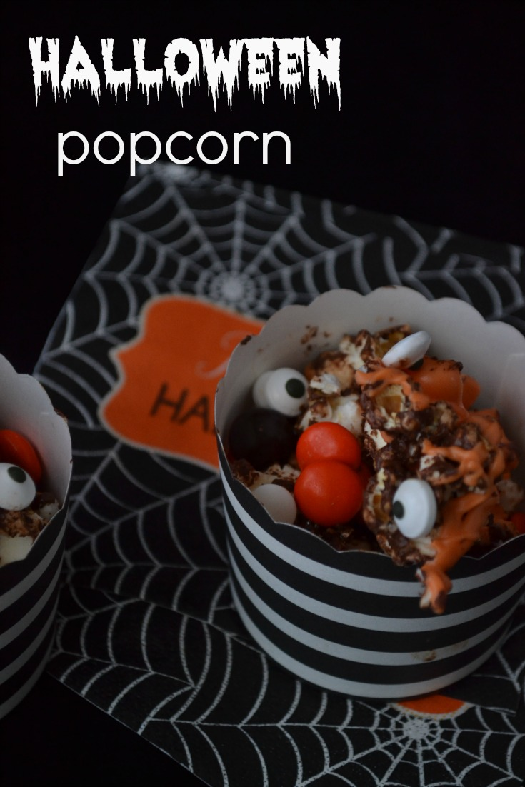 Halloween popcornpinterest