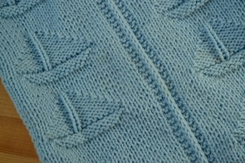 Sailboat Baby Blanket Knitting Pattern